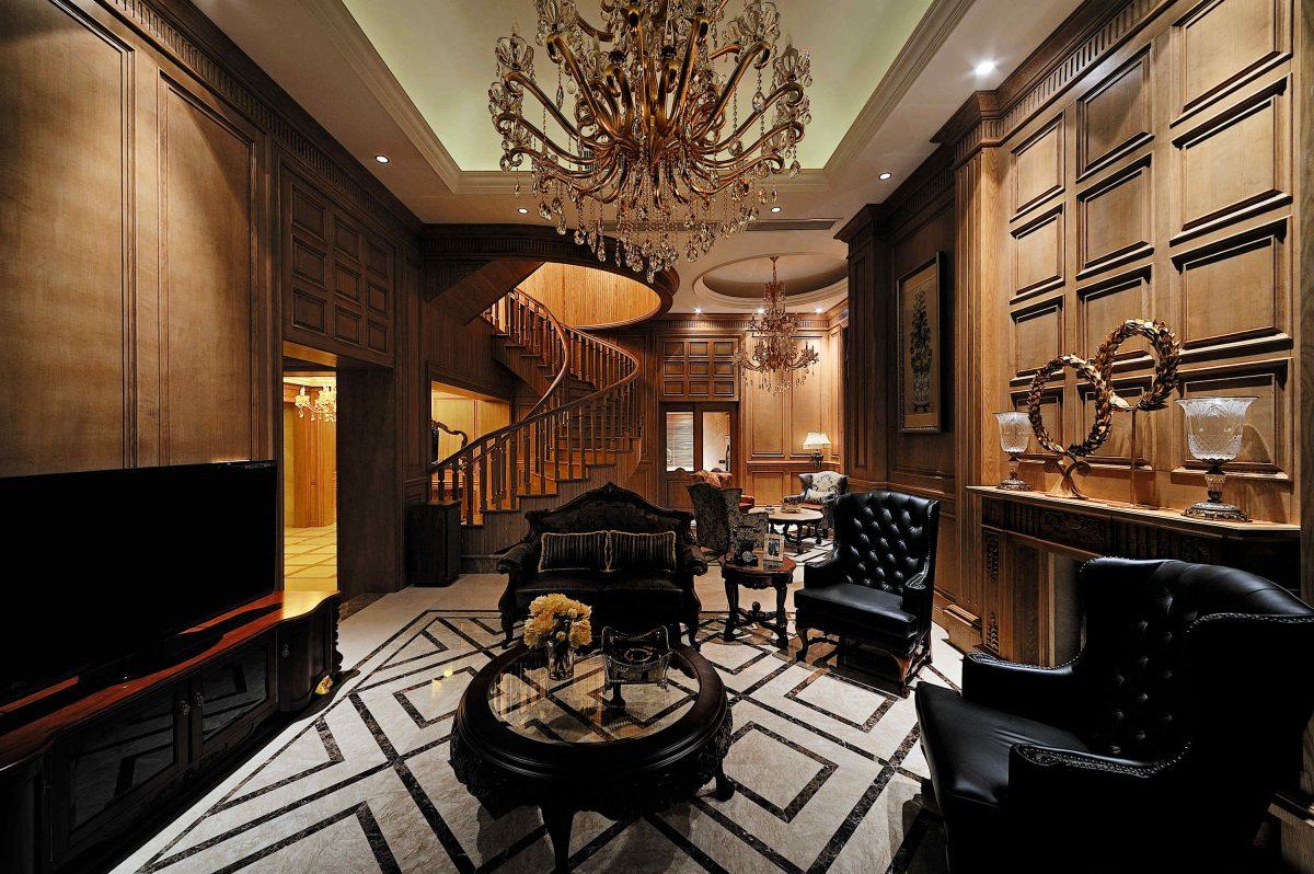 福州居住118-巧克力欧式客厅