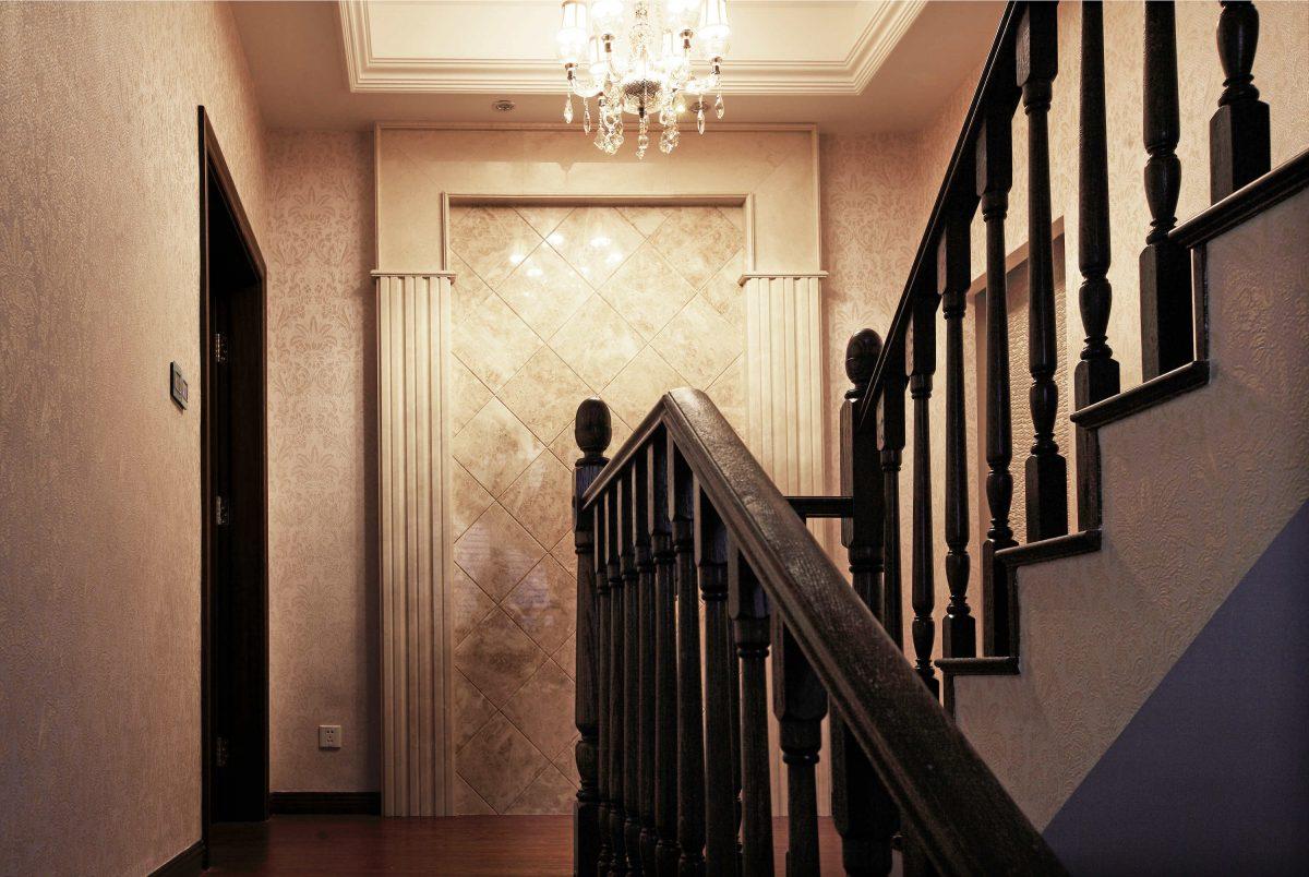 余姚别墅楼梯背景