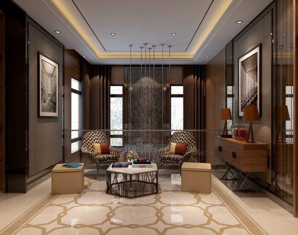 「星之物语」温馨暖调舒适轻松现代家庭厅