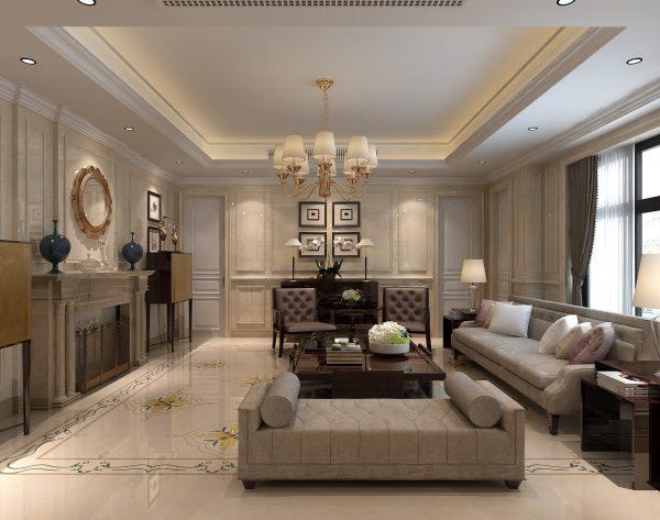 「库里南」热门经典清新美好欧式客厅