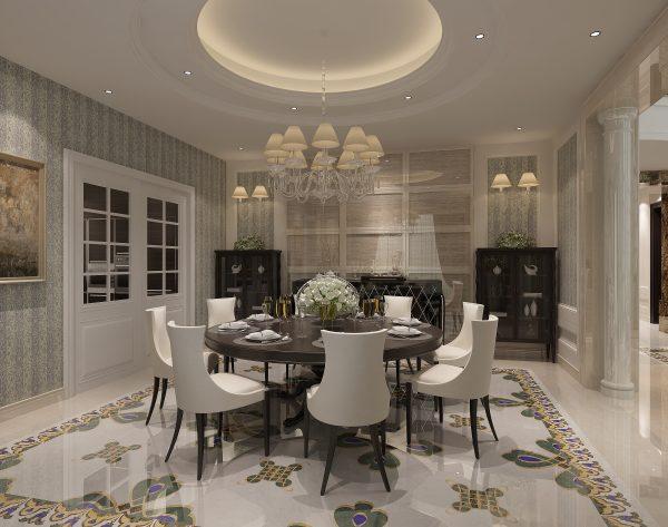 「孔雀」超级颜值梦幻优雅欧式餐厅