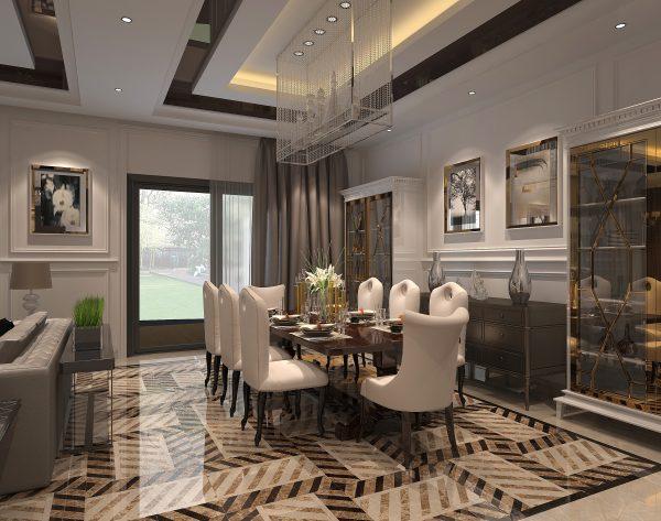 「织」斑斓多彩精致时尚新装饰主义餐厅
