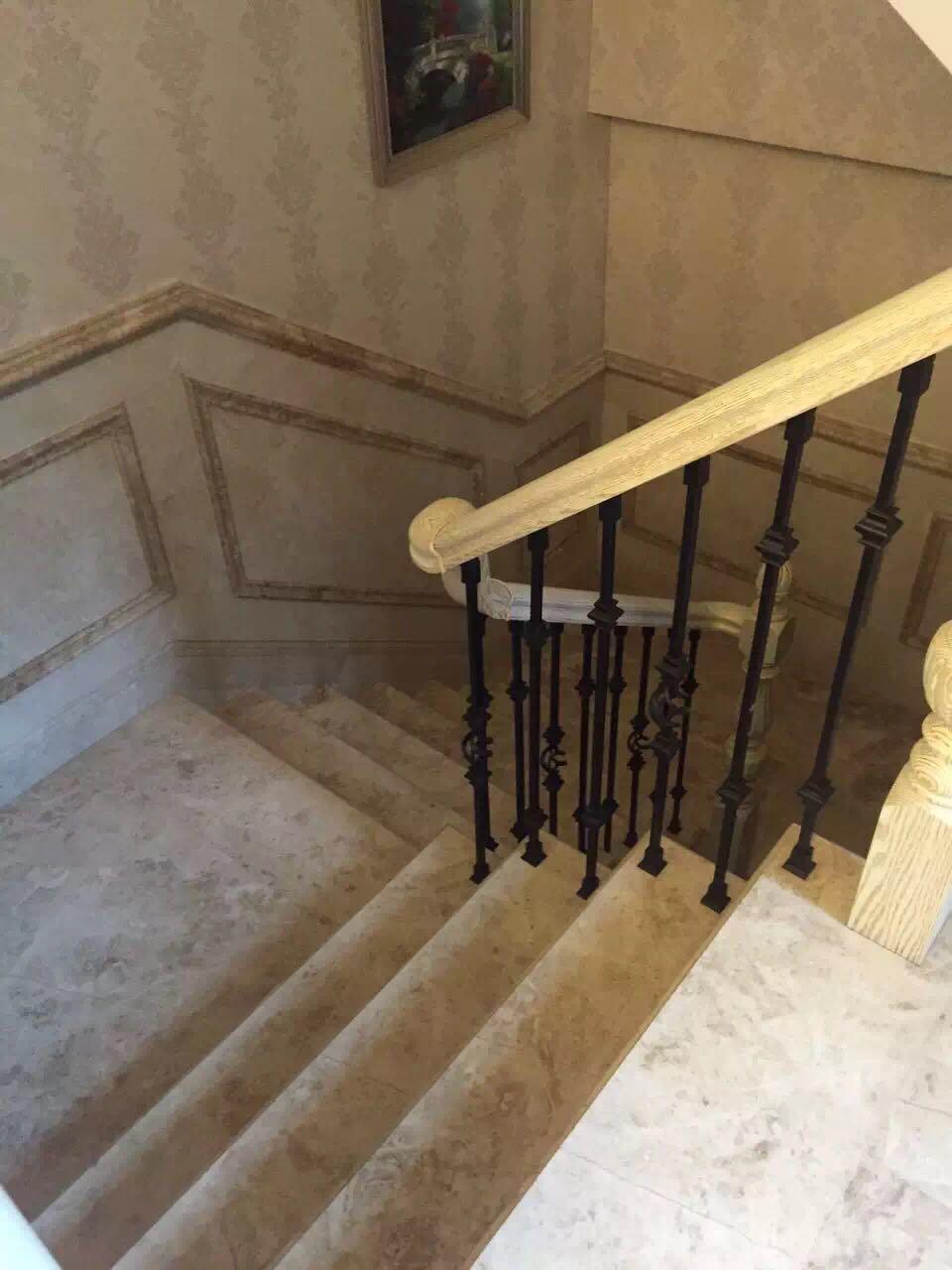 卡布奇洛楼梯间实景