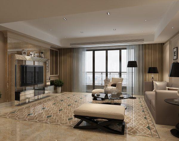 「圣卡罗」巴洛克式非凡质感新古典客厅