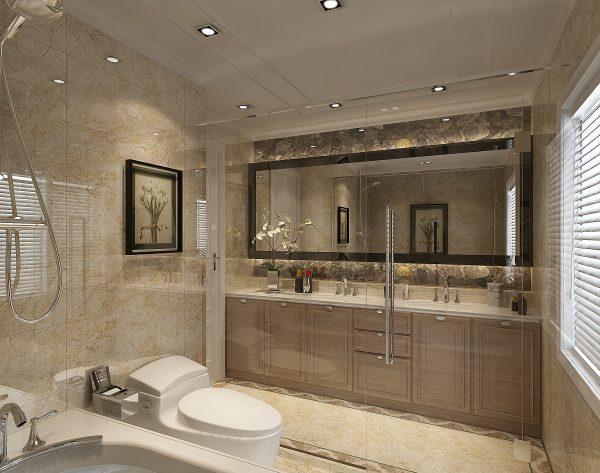 「圣卡罗」奢华高贵情调新古典卫浴间