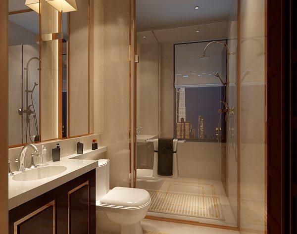 「米洛西金黄」温暖金黄新装饰主义卫浴间