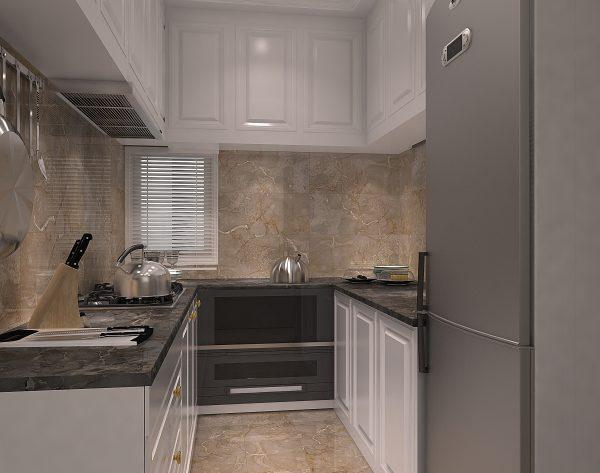 「米洛西中灰」气质灰温润优雅新古典厨房