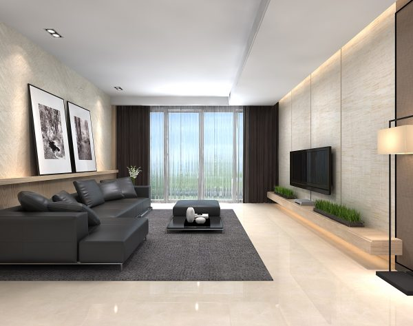 「米洛西米黄」简奢个性精英之选现代客厅