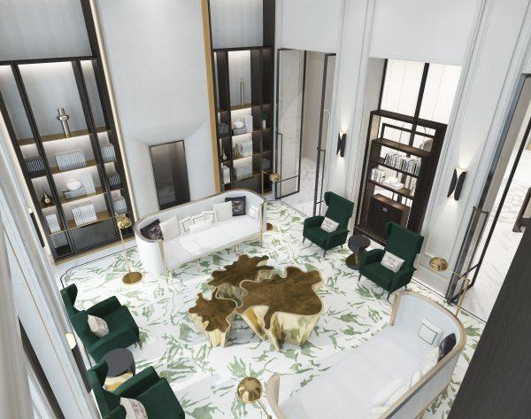 「BEN WU 墨」大师设计摩登东方气质客厅