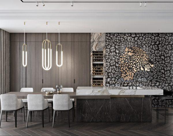 「米洛西美豹」高级奢品优雅现代客厅