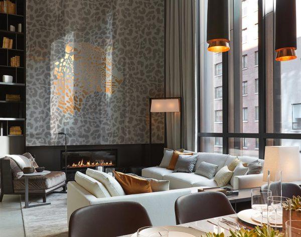 「米洛西美豹」白金奢华雅致现代客厅