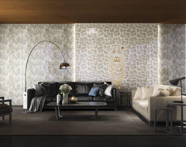 「米洛西美豹」灰白系简约大气现代客厅
