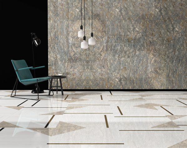 「几何物语」深浅灵动配色现代客厅