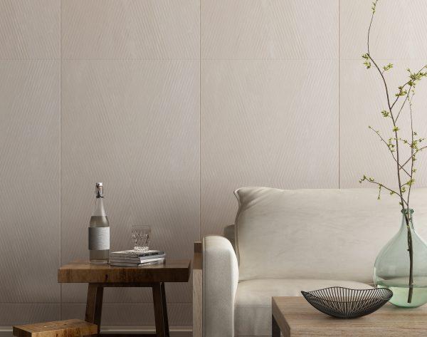 「菱形米白」清新至简舒适生活北欧客厅沙发背景墙