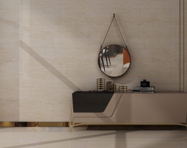 「条形米黄」素雅淡雅时尚简约现代客厅