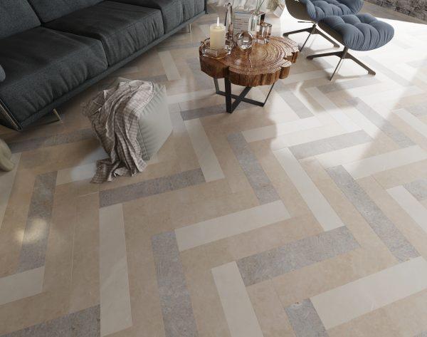 「iMatch趣拼」柔和配色雅致细腻现代客厅