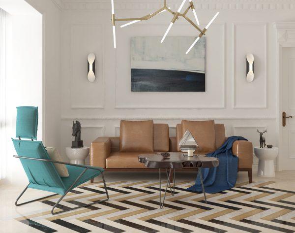 「iMatch趣拼」撞色搭配极简优雅北欧客厅