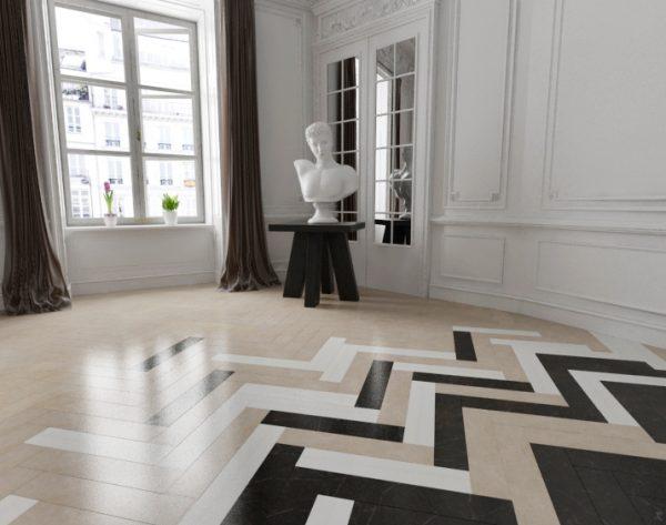 「iMatch趣拼」黑白灰经典艺术美式卧室