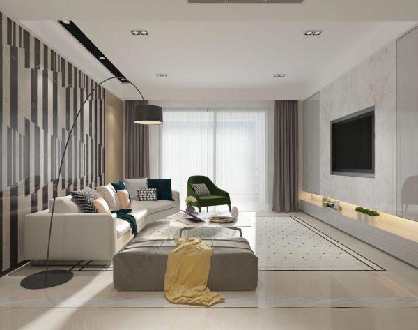 「变奏曲」精简优雅文艺气质现代客厅