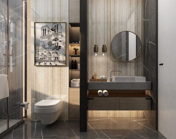 「朋克」舒适简约个性大气自由美式卫浴间