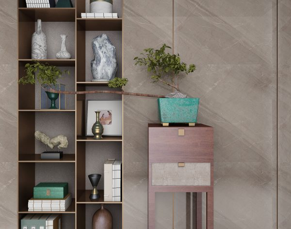 「金属灰」优雅浪漫温馨精致新中式背景墙