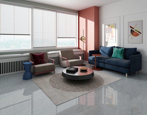 「意大利灰」简约舒适明亮清新现代客厅
