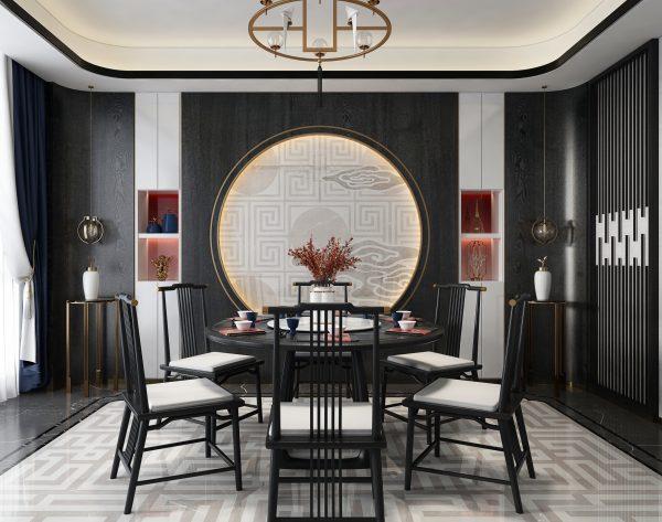 「大美东方系列」传统庄重新中式餐厅